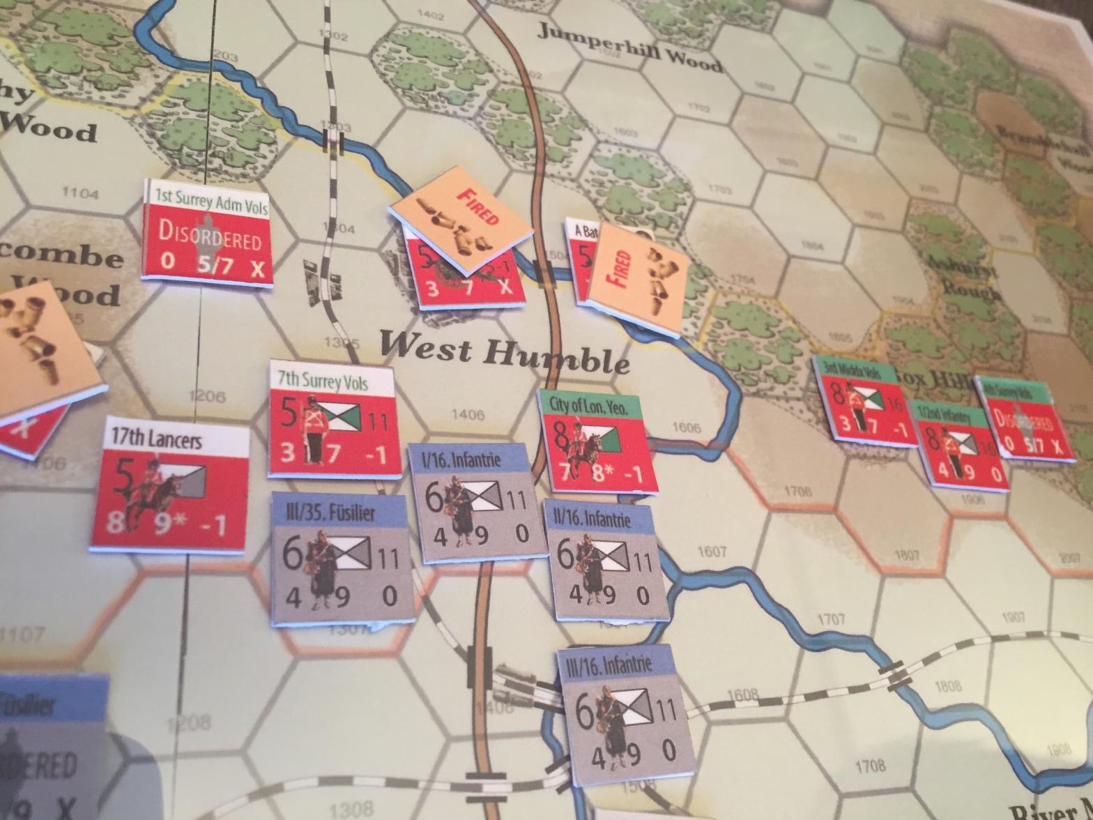 The Battle of Dorking Tiny Battle Publishing West Humble